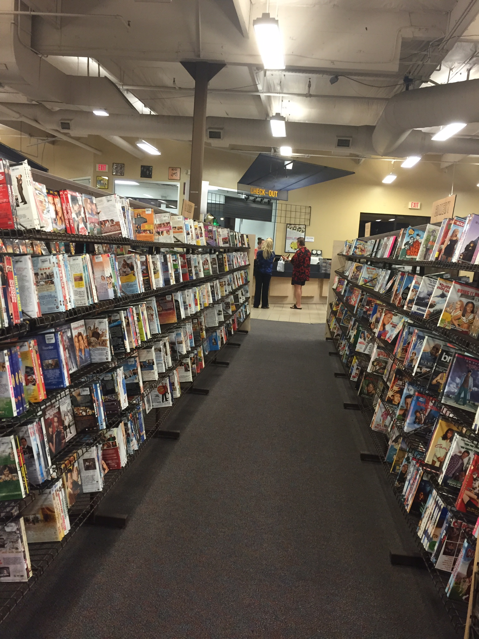 All the movies you want, we have them
